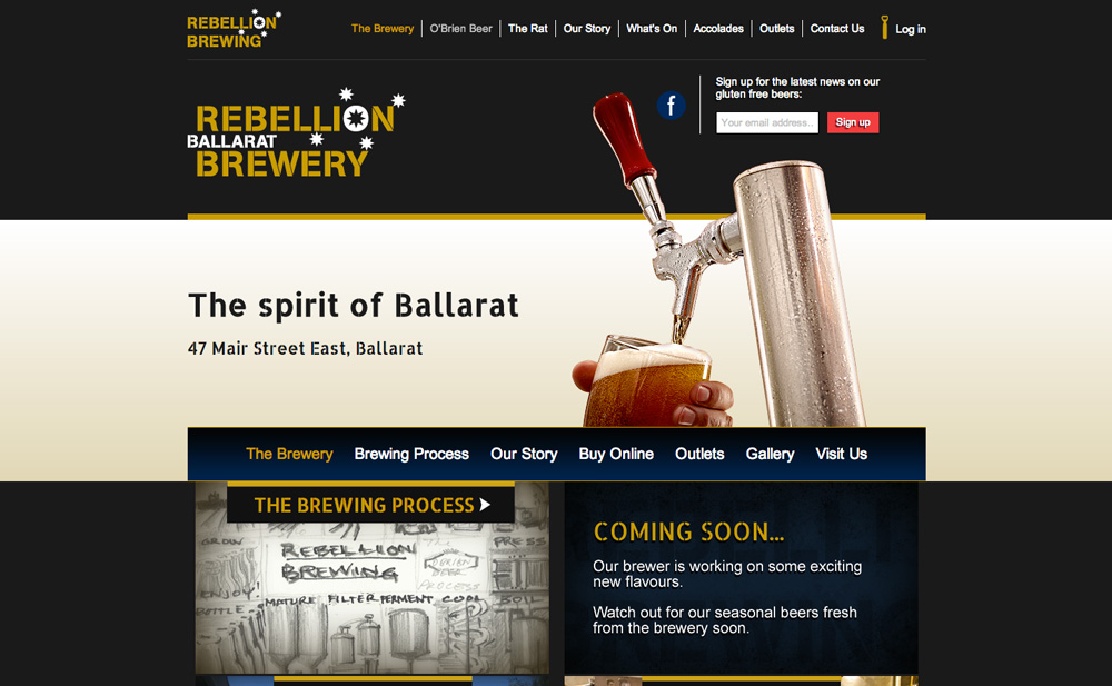 Rebellion Brewery Ballarat