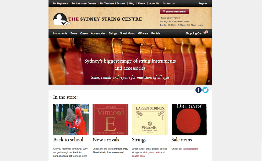 Sydney Strings Centre