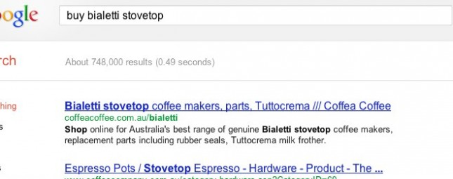 Search results for Bialetti stovetop products